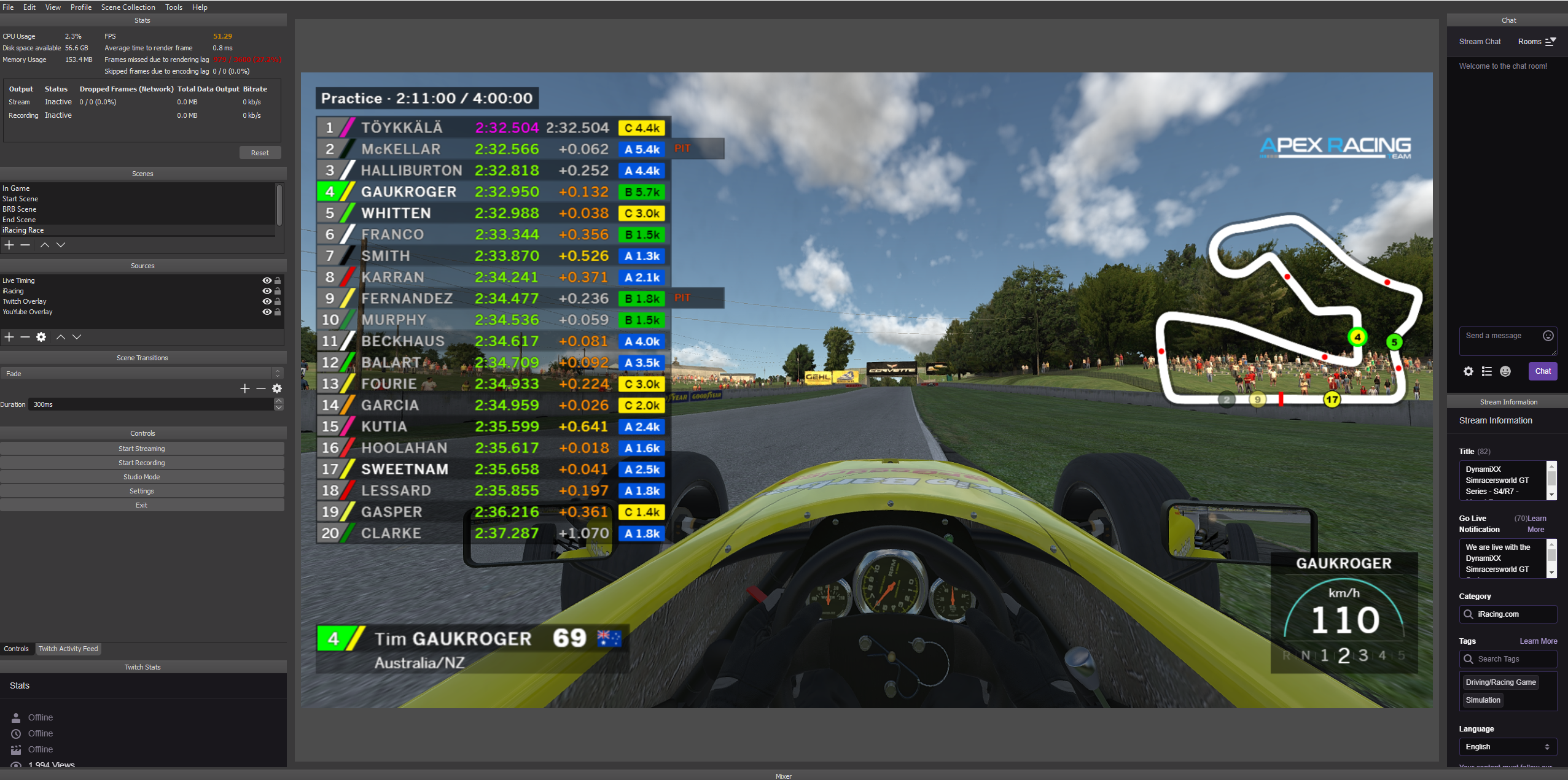 Overlay – 832 – New cars and tracks added!
